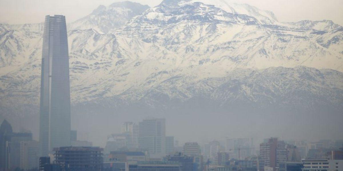 Decretan alerta ambiental para esta jornada en Santiago