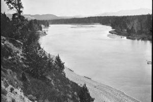 La zona del lago, en 1871 Foto:AP. Imagen Por: