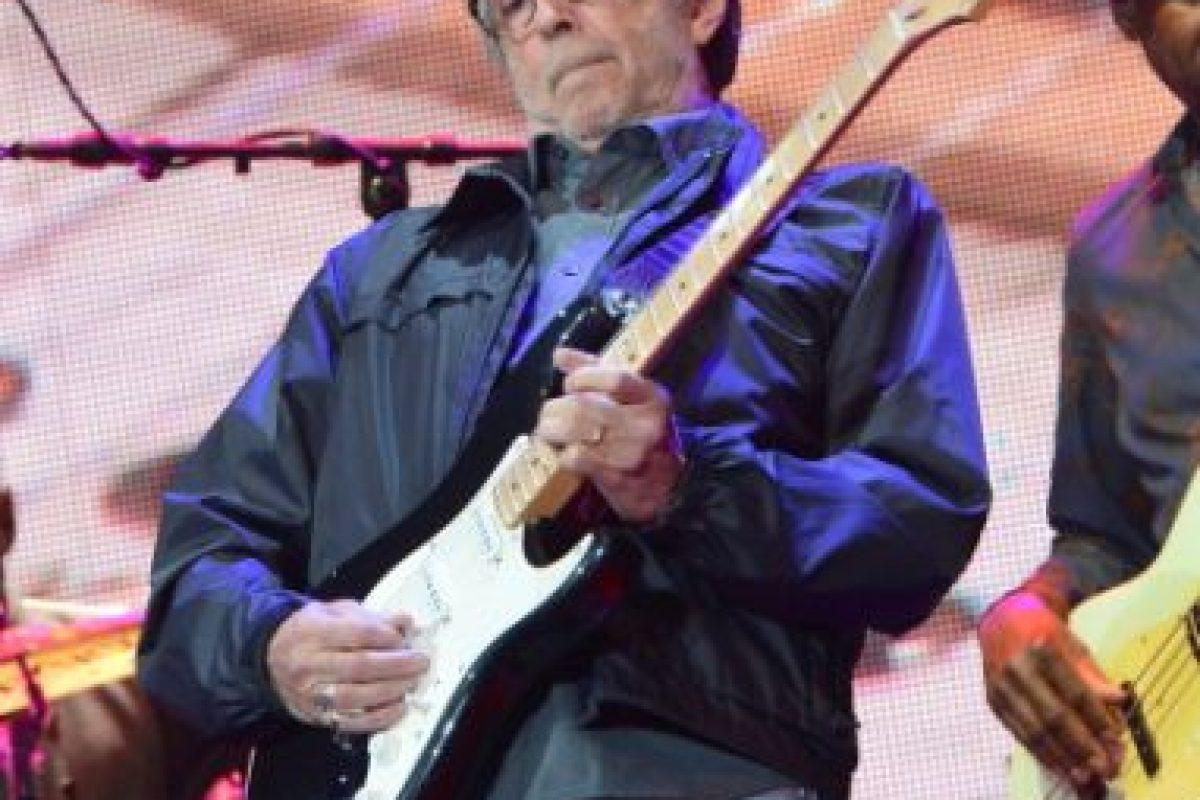Eric Clapton, uno de los mejores guitarristas del mundo Foto:Getty Images. Imagen Por: