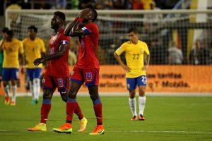 Haití llega absolutamente eliminado a la última fecha del Grupo C Foto:Getty Images. Imagen Por: