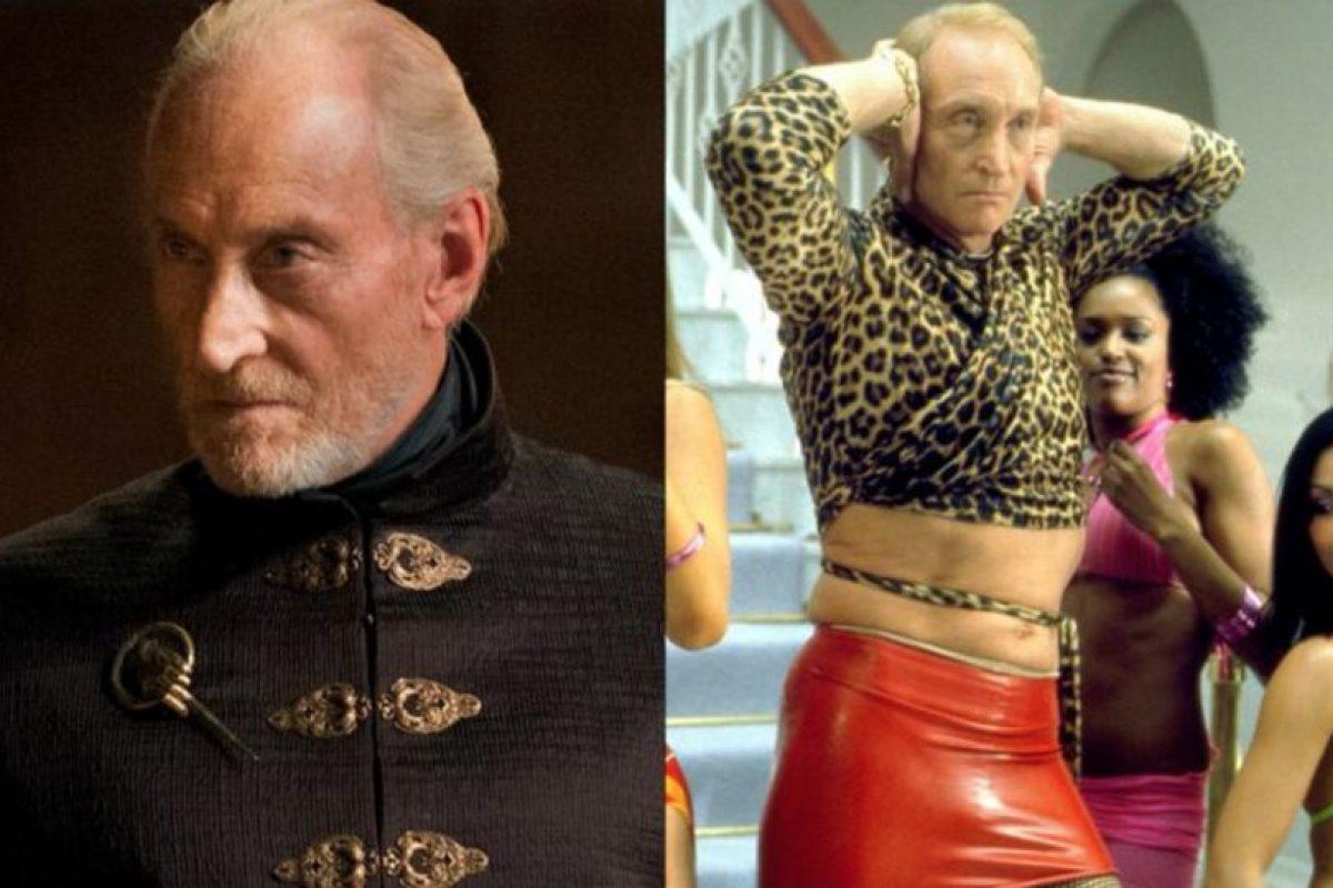 """Charles Dance es un actor de trayectoria. Estuvo en """"Las Joyas de la Corona"""" y se vistió así para una película de """"Ali G"""", antes de ser el temible Twynn Lannister. Foto:HBO/ Universal. Imagen Por:"""