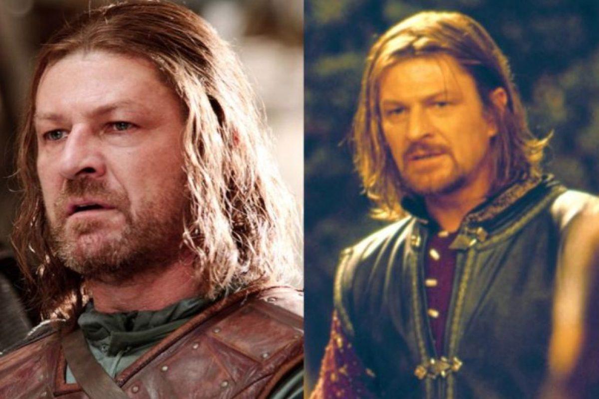 """Sean Bean, con su personaje de """"Ned Stark"""", ha muerto 25 veces en el cine. Acá, como Boromir en """"El Señor de los Anillos"""". Que también murió, claro. Foto:HBO/New Line Cinema. Imagen Por:"""