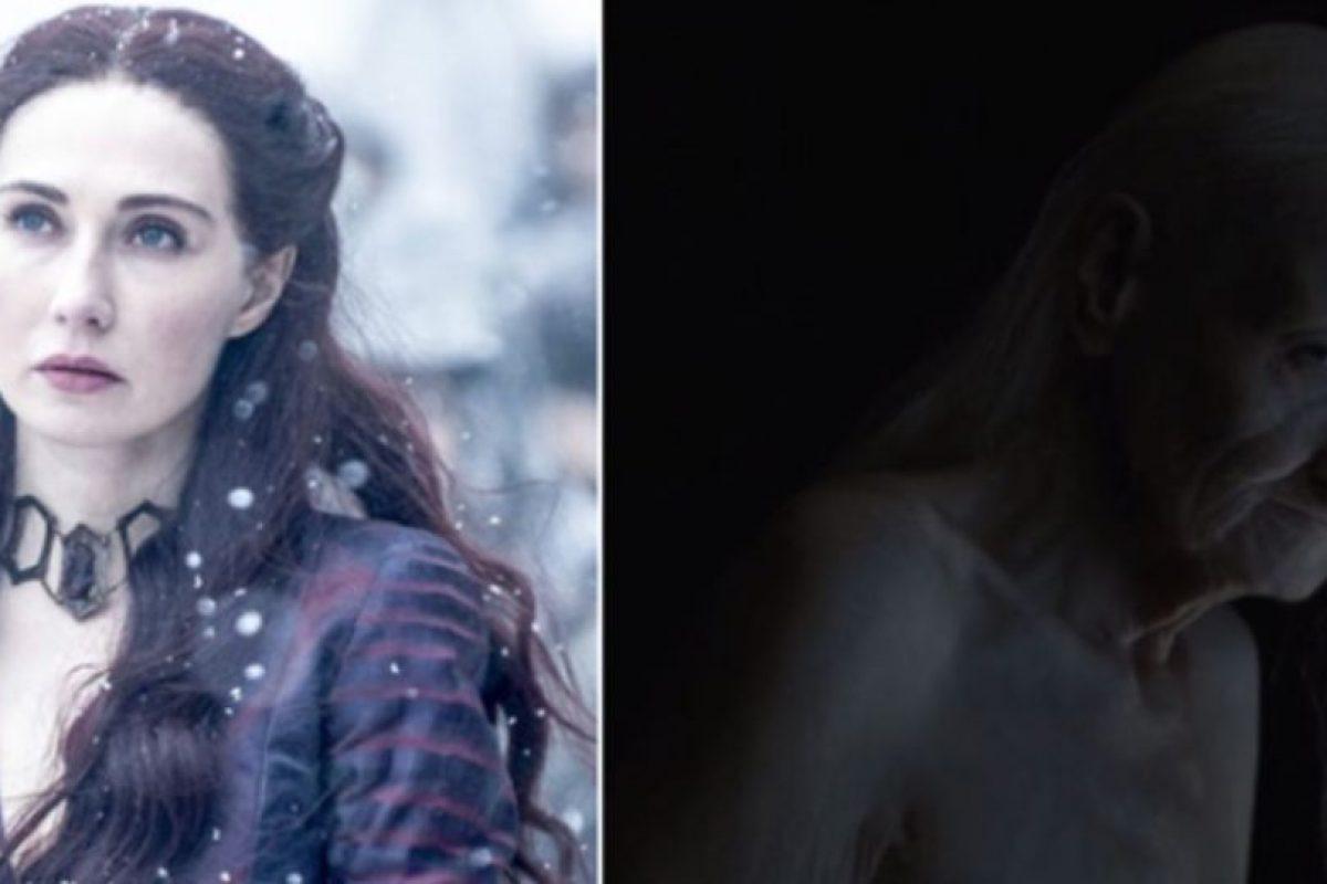 """Quien es la sacerdotisa """"Melisandre"""". Foto:HBO. Imagen Por:"""