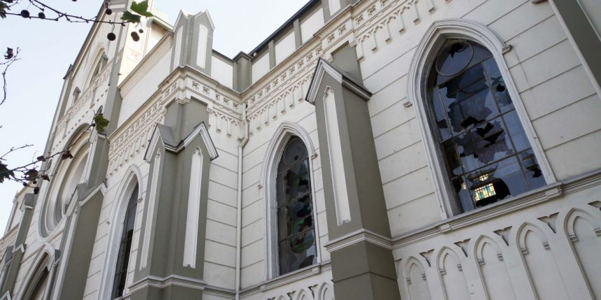 Cardenal Ezzati preside misa de desagravio en iglesia de la Gratitud Nacional