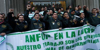 Funcionarios de Gendarmería interpondrán recurso por limitación a pensiones