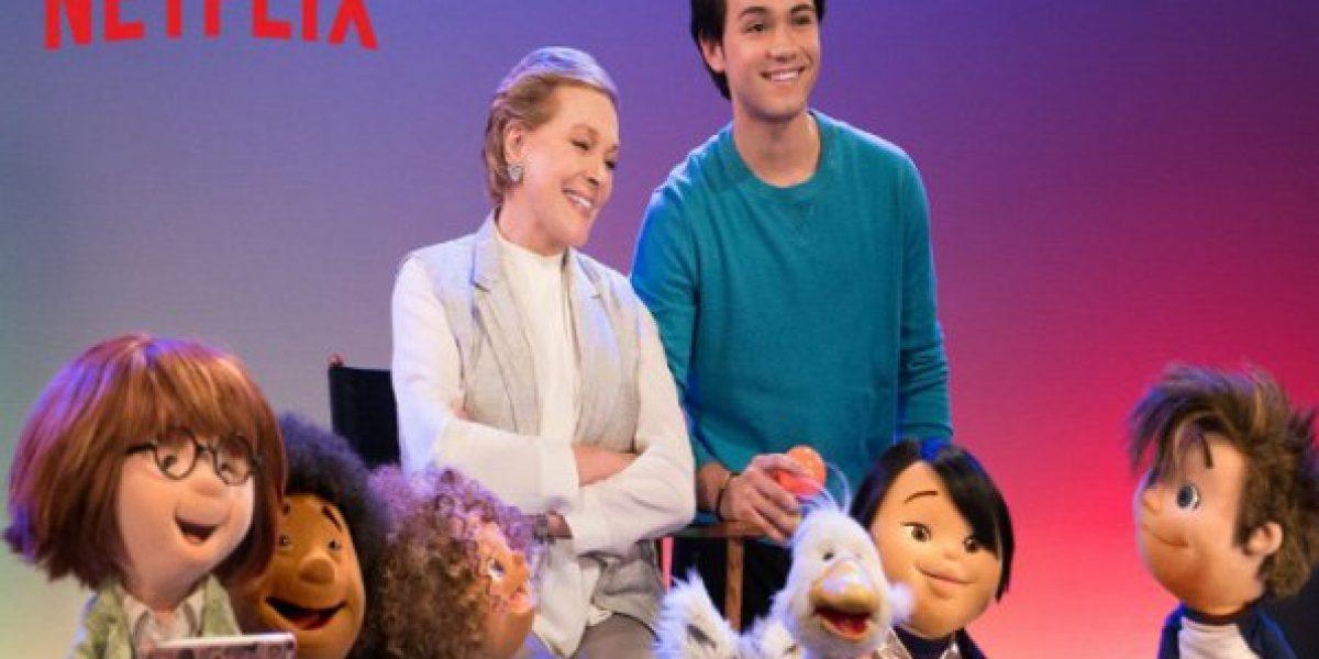 Julie Andrews protagoniza nueva serie para niños que enseña artes escénicas