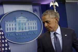 """""""Debemos pensar si este es el país en el que queremos seguir viviendo"""", comentó Obama sobre el poco control en la venta de armas Foto:AFP. Imagen Por:"""