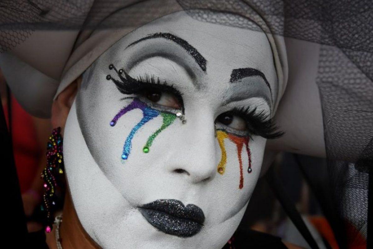 Algunos se manifestaron en la Marcha por el Orgullo Gay de los Ángeles Foto:AFP. Imagen Por: