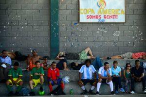 En Medellín, Colombia, también tienen su propia Copa América. Foto:AFP. Imagen Por: