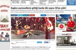 La portada online del periódico turco Foto:Twitter.com. Imagen Por: