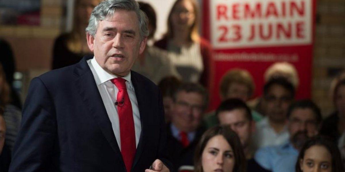 Gordon Brown sale al rescate de la UE cuando las bolsas empiezan a temer un