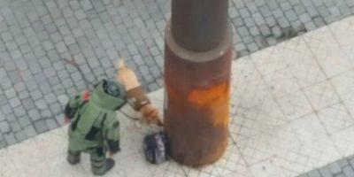 Cierran accesos al Metro tras aviso de bomba en pleno Paseo Ahumada