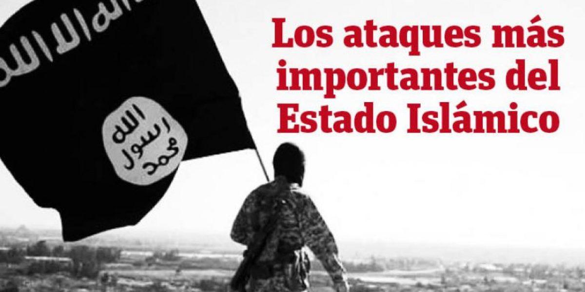 Infografía: los ataques más importantes del Estado Islámico