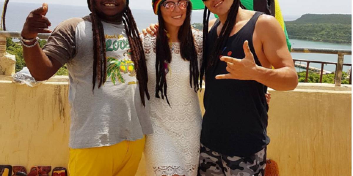 Fotos: Kel y Pangal disfrutan de su amor en Jamaica