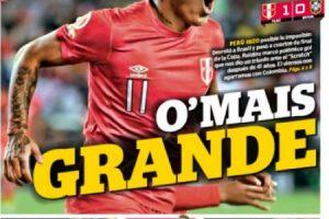 La prensa peruana se dio un festín con la clasificación a cuartos de final. Imagen Por: