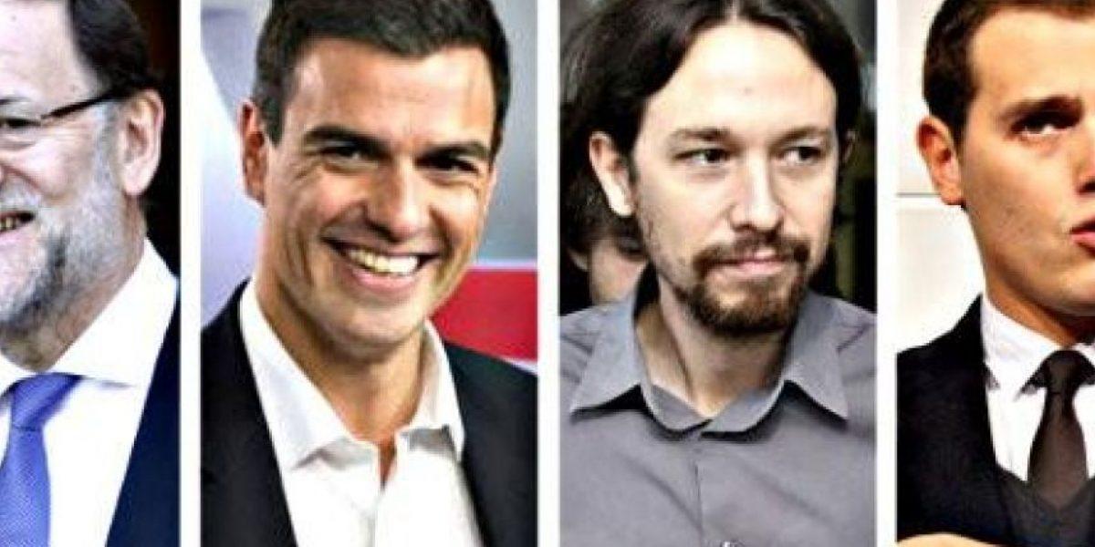 Histórico debate a cuatro busca decantar elecciones en España