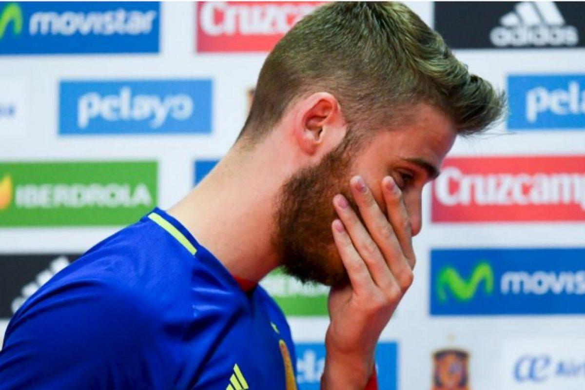David De Gea negó la acusación por contactar a una chica para tener relaciones sexuales con él y otros futbolistas Foto:Getty Images. Imagen Por: