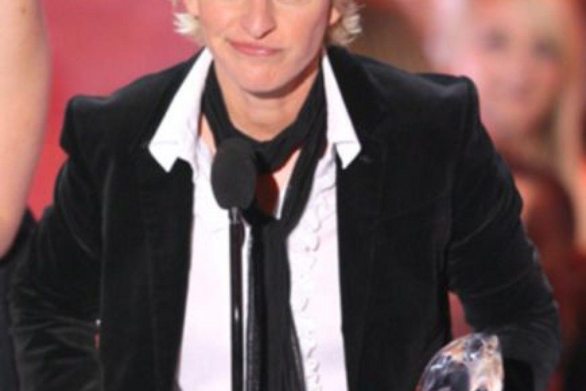 Ellen DeGeneres se declaró abiertamente gay en televisión. Desde ahí es activista. Foto:vía Getty Images. Imagen Por: