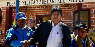 Morales acusa a Chile de tener