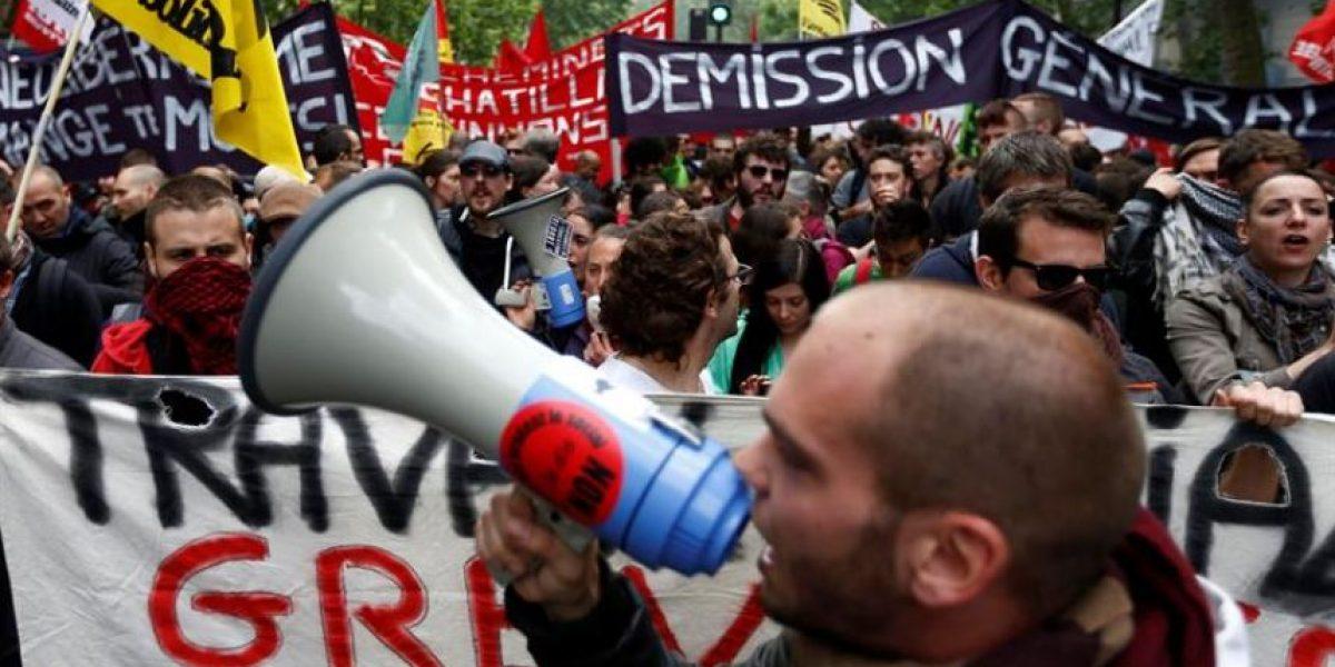 En plena Eurocopa los opositores a la reforma laboral salen de nuevo a la calle