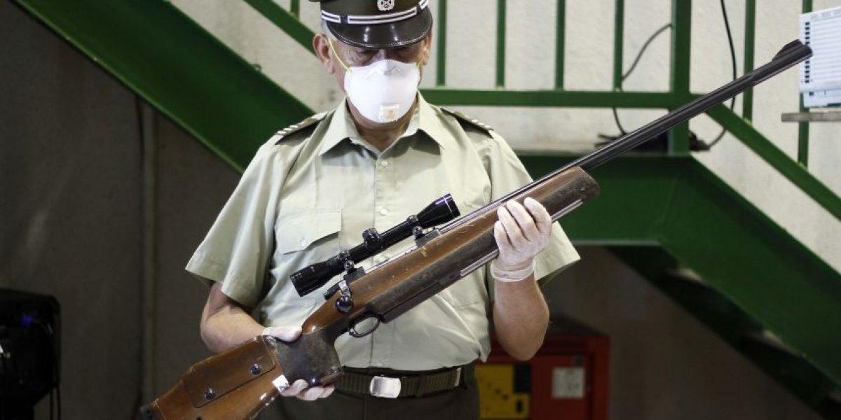Carabineros calificó pérdida de armas desde subcomisaría como