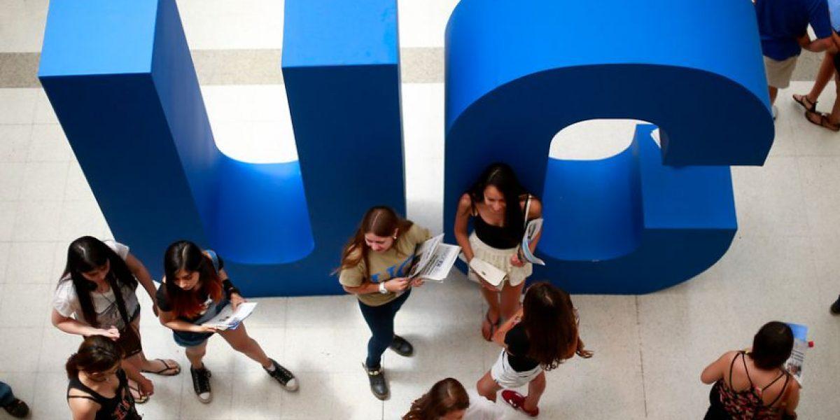 Ranking QS: Dos universidades chilenas se encuentran entre las 10 mejores de América latina