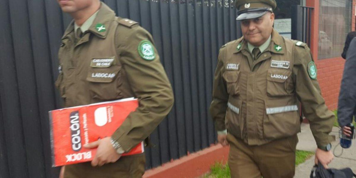 Carabinero declara en calidad de inculpado tras robo de armamento en subcomisaría de Cerrillos