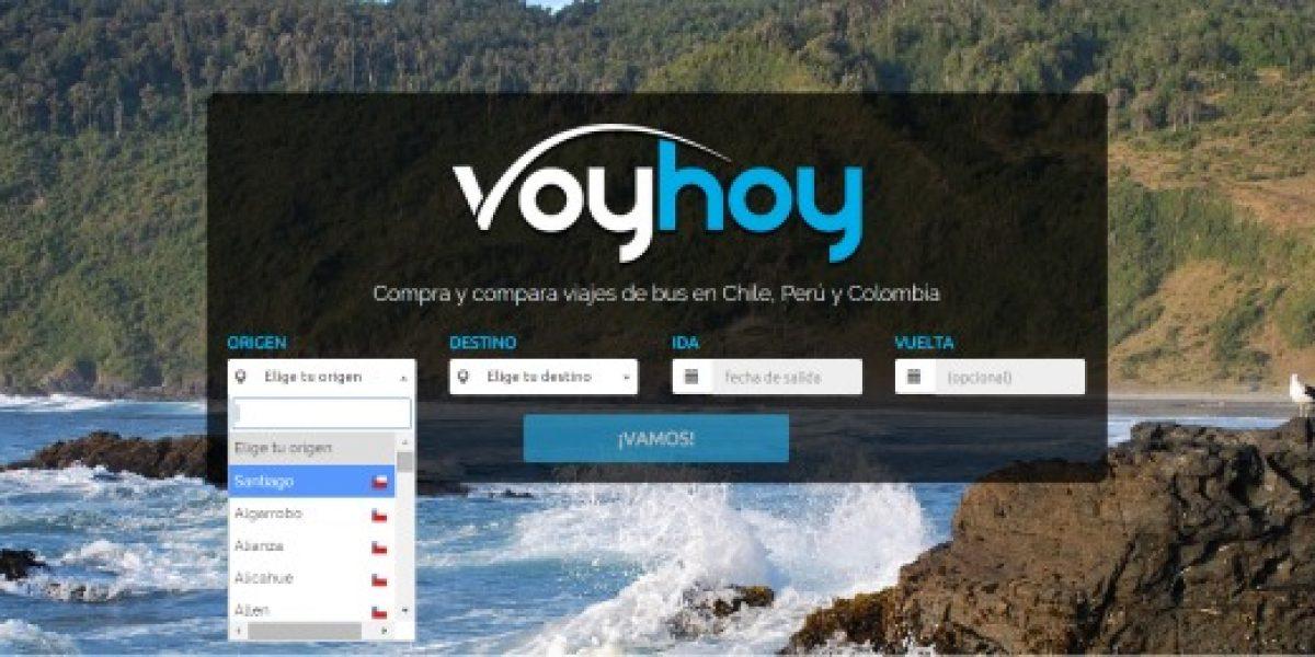 Voyhoy, el portal que compara precios y vende pasajes de buses planea expandirse a Europa