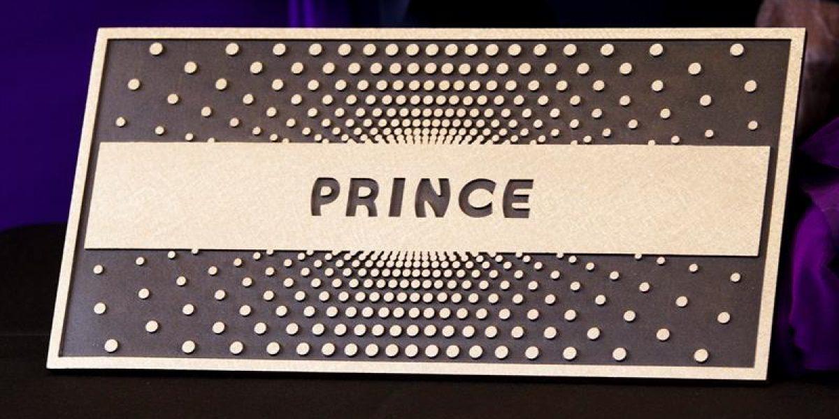 Prince pasó a integrar el Paseo de la Fama del teatro Apollo