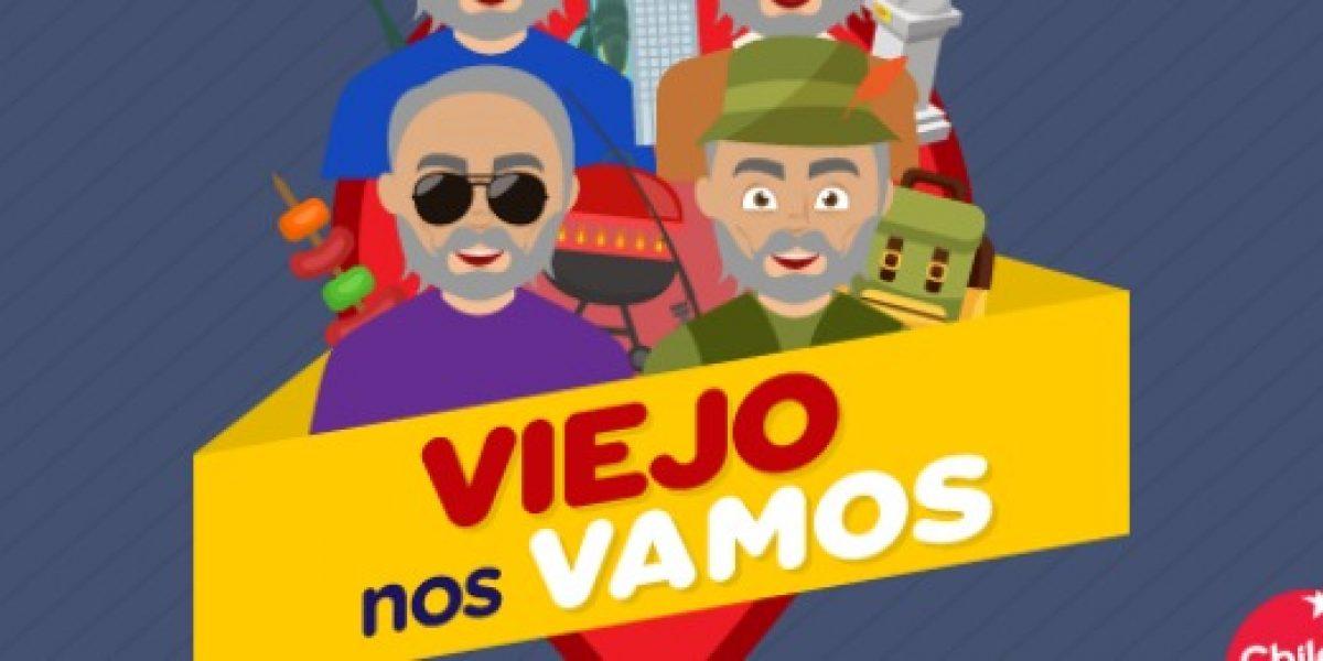 Concurso te permite regalarle a tu padre un viaje dentro de Chile