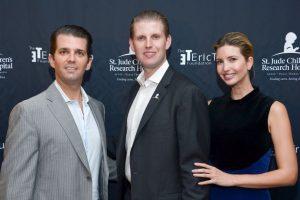 Con su primera esposa Ivana Trump tuvo a sus hijos Donald John Jr., Invanka Marie y Eric Fredrick. Foto:Getty Images. Imagen Por: