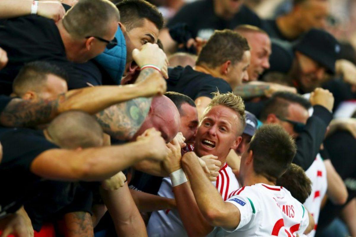 Después de 44 sin estar en el torneo de selecciones, los húngaros vencieron por 2 a 0 a los austríacos Foto:Getty Images. Imagen Por: