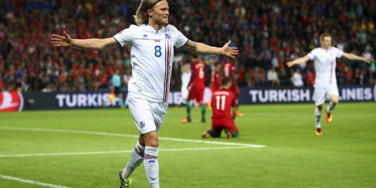 La debutante Islandia sorprendió a Portugal y CR7 en la Eurocopa