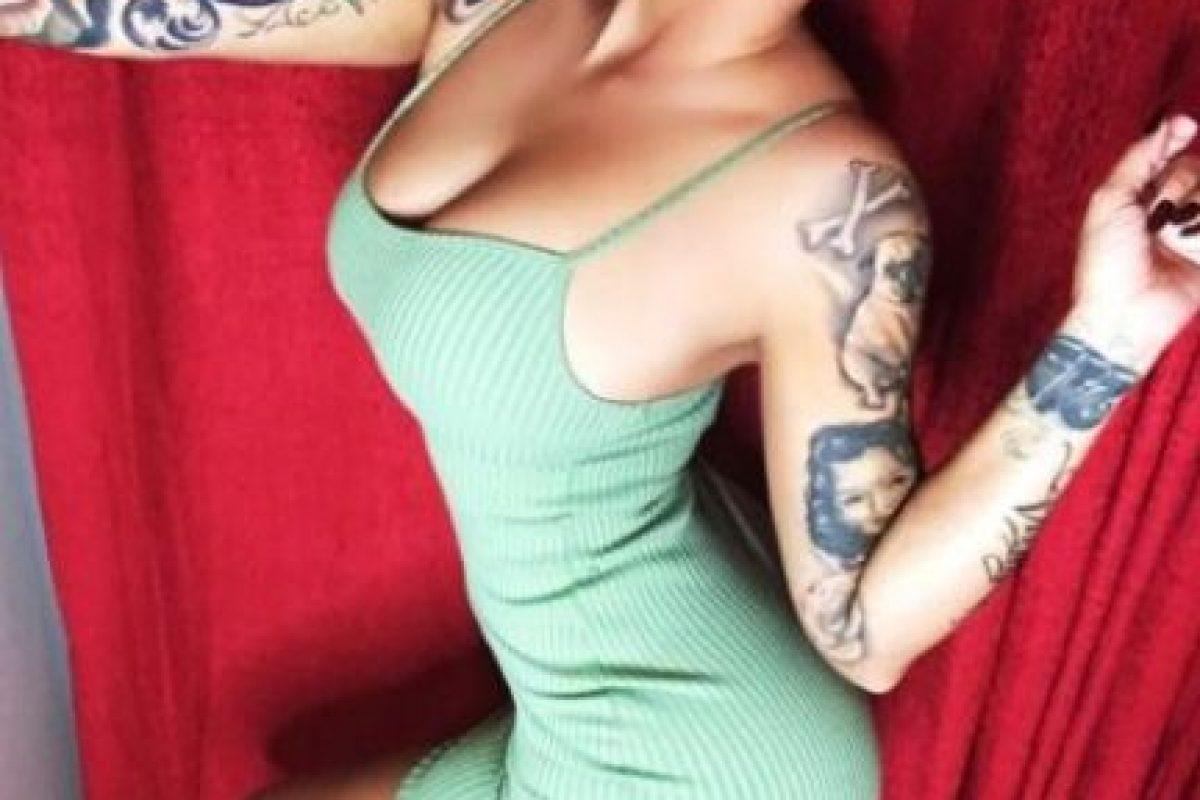 Amber Rose siempre ha sido comparada con Kim Kardashian Foto:Vía Instagram/@amberrose. Imagen Por:
