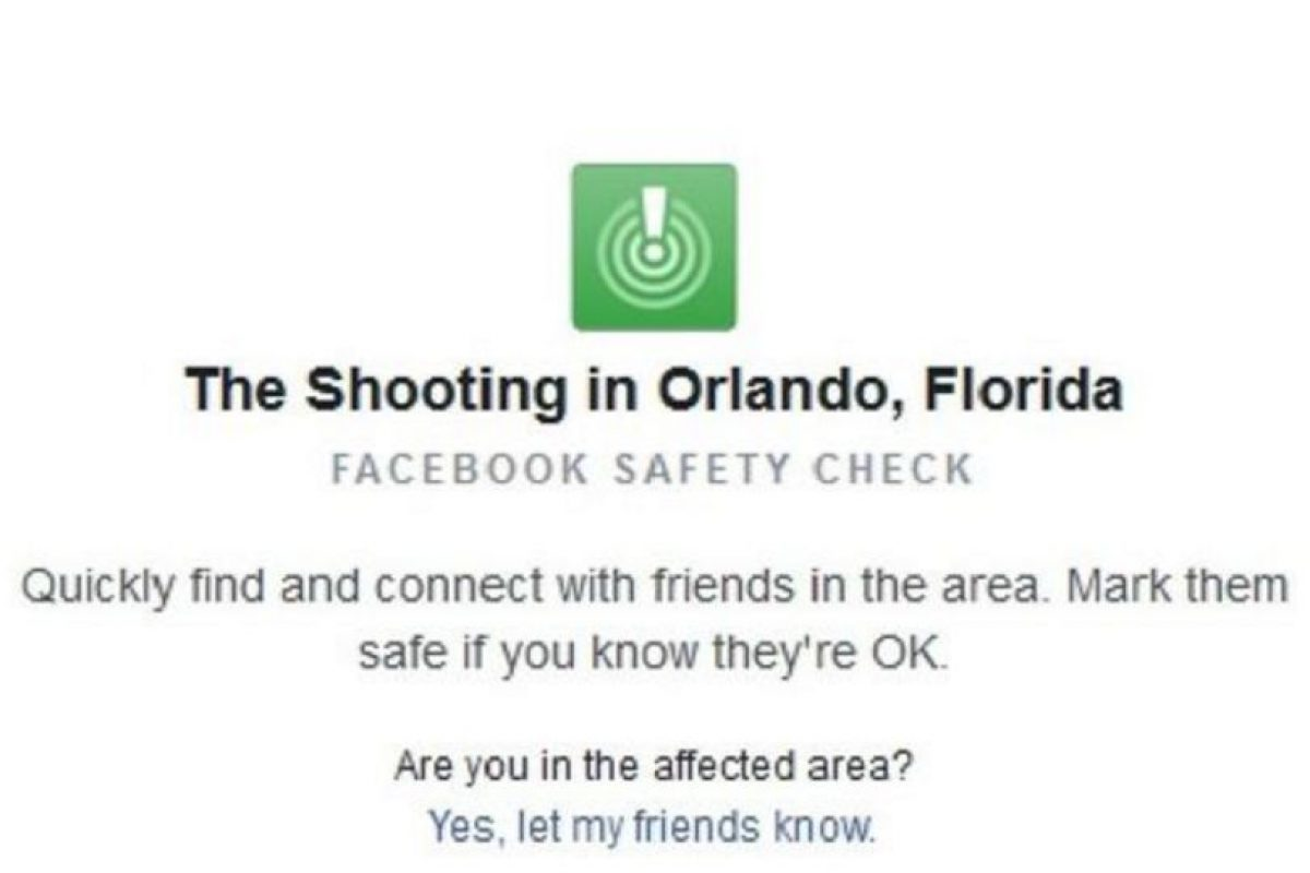 """""""Al despertar esta mañana, me quedé horrorizado al oír sobre el tiroteo en Orlando. Mis pensamientos y oraciones están con las víctimas, sus familias y la comunidad LGBT"""", mencionó el CEO de la red social. Foto:Facebook. Imagen Por:"""