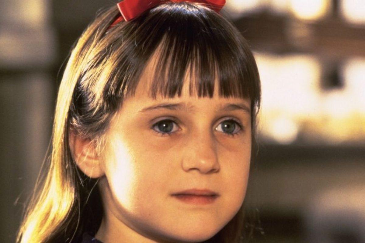 """La conocimos en la película """"Matilda"""" Foto:Vía imbd. Imagen Por:"""