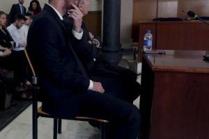 Así se presentó al juicio por fraude que se celebró en España Foto:AP. Imagen Por: