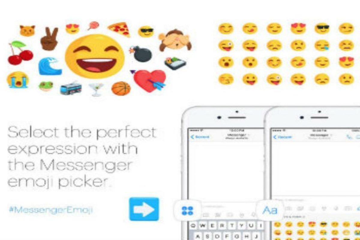 Los nuevos emojis. Foto:Messenger. Imagen Por: