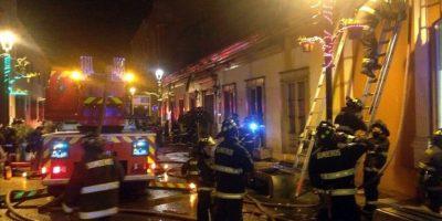 Dos personas muertas deja como saldo incendio de una casa en Cauquenes