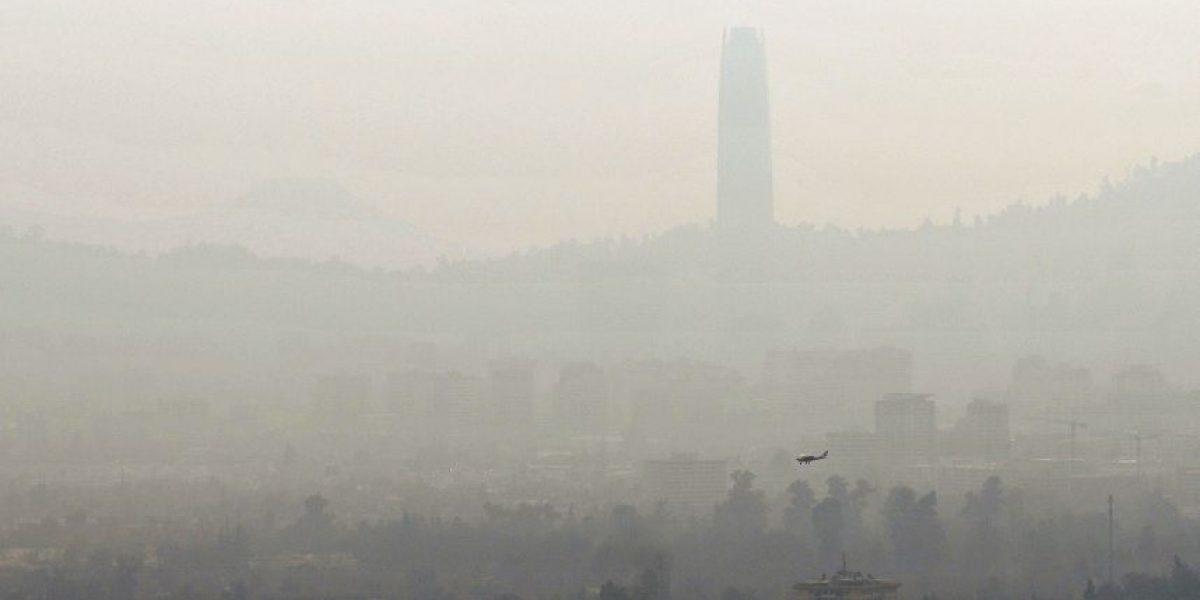 Calidad del aire no mejora: estación de El Bosque registra niveles de preemergencia