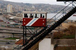 Los funiculares son otra clásica postal del puerto de Valparaíso, pero también son un medio de transporte amigable con el medio ambiente. Foto:Agencia UNO / Archivo. Imagen Por: