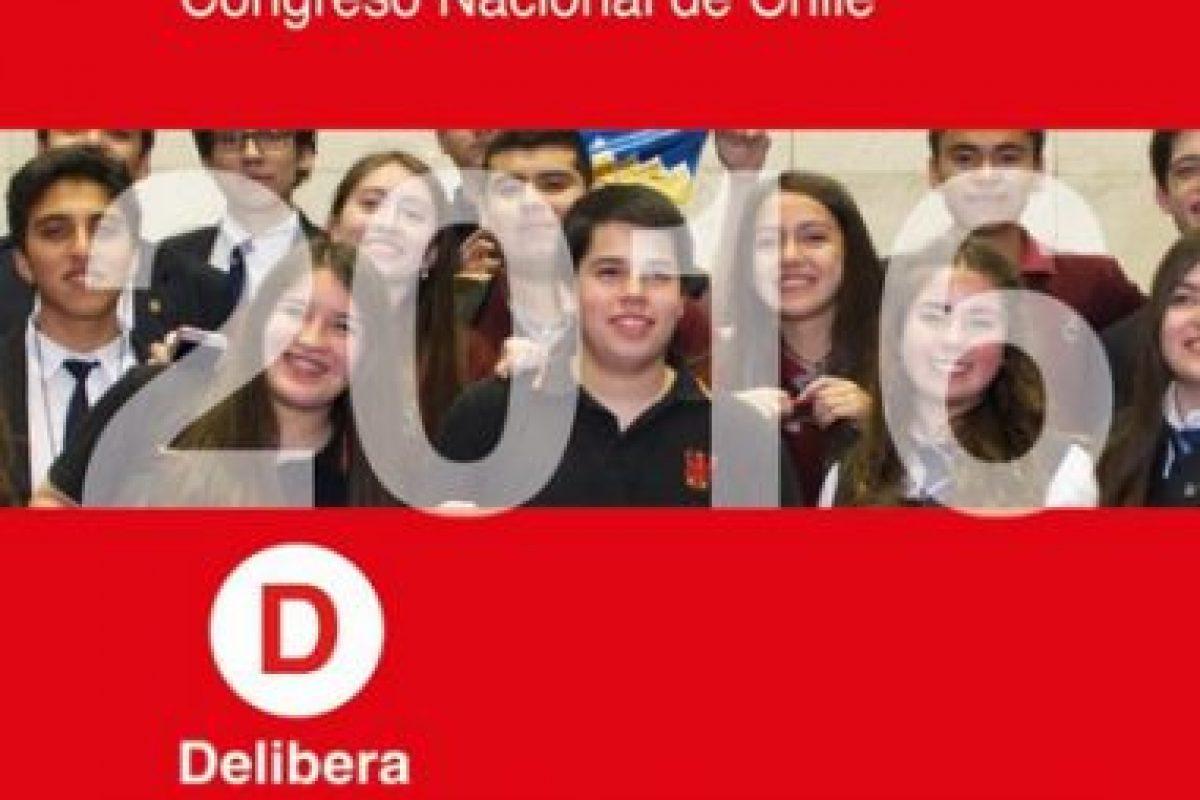 Foto:Reproducción Twitter Senado Chile. Imagen Por: