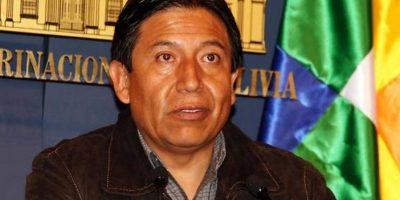 Canciller de Bolivia: