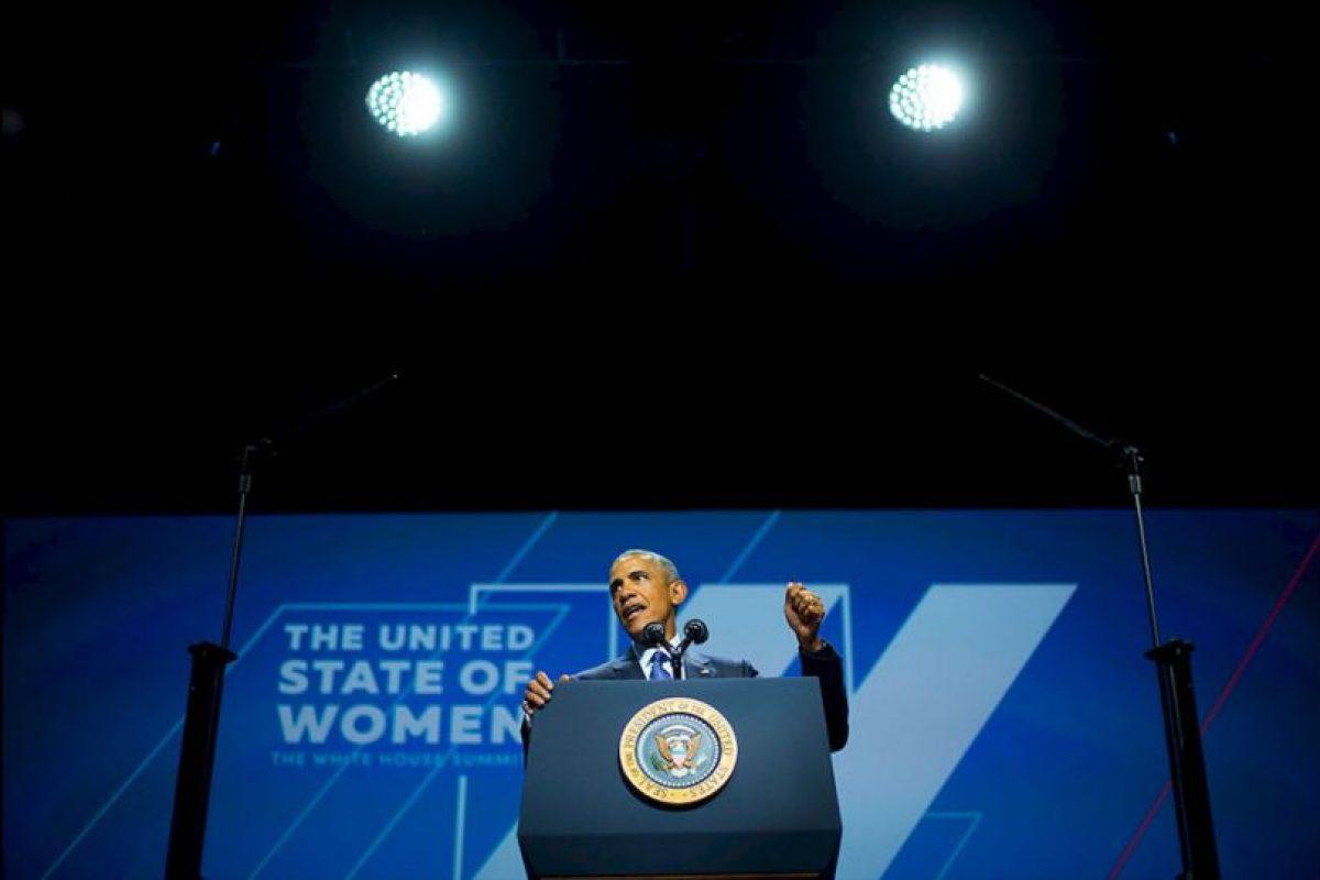 Presidente Barack Obama denunció la doble moral con la que se cataloga y juzga a las mujeres que practican su sexualidad libremente. Foto:AP. Imagen Por: