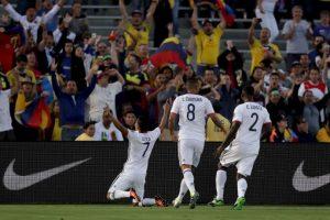 Colombia, en tanto, venció a Estados Unidos y Paraguay, pero no pudo con Costa Rica en la última fecha del Grupo A Foto:Getty Images. Imagen Por: