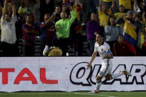 Colombia parecía destinado a ganar el Grupo A, pero cayó en la última fecha con Costa Rica y terminó segundo, por lo que enfrentarán a los peruanos Foto:Getty Images. Imagen Por: