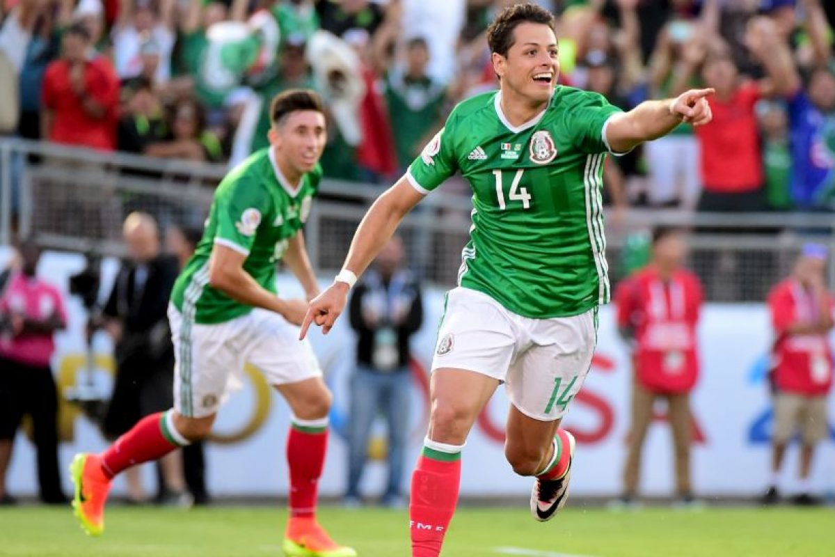 Chicharito es la gran carta de los mexicanos para ser campeones de la Copa América Centenario en Estados Unidos Foto:Getty Images. Imagen Por:
