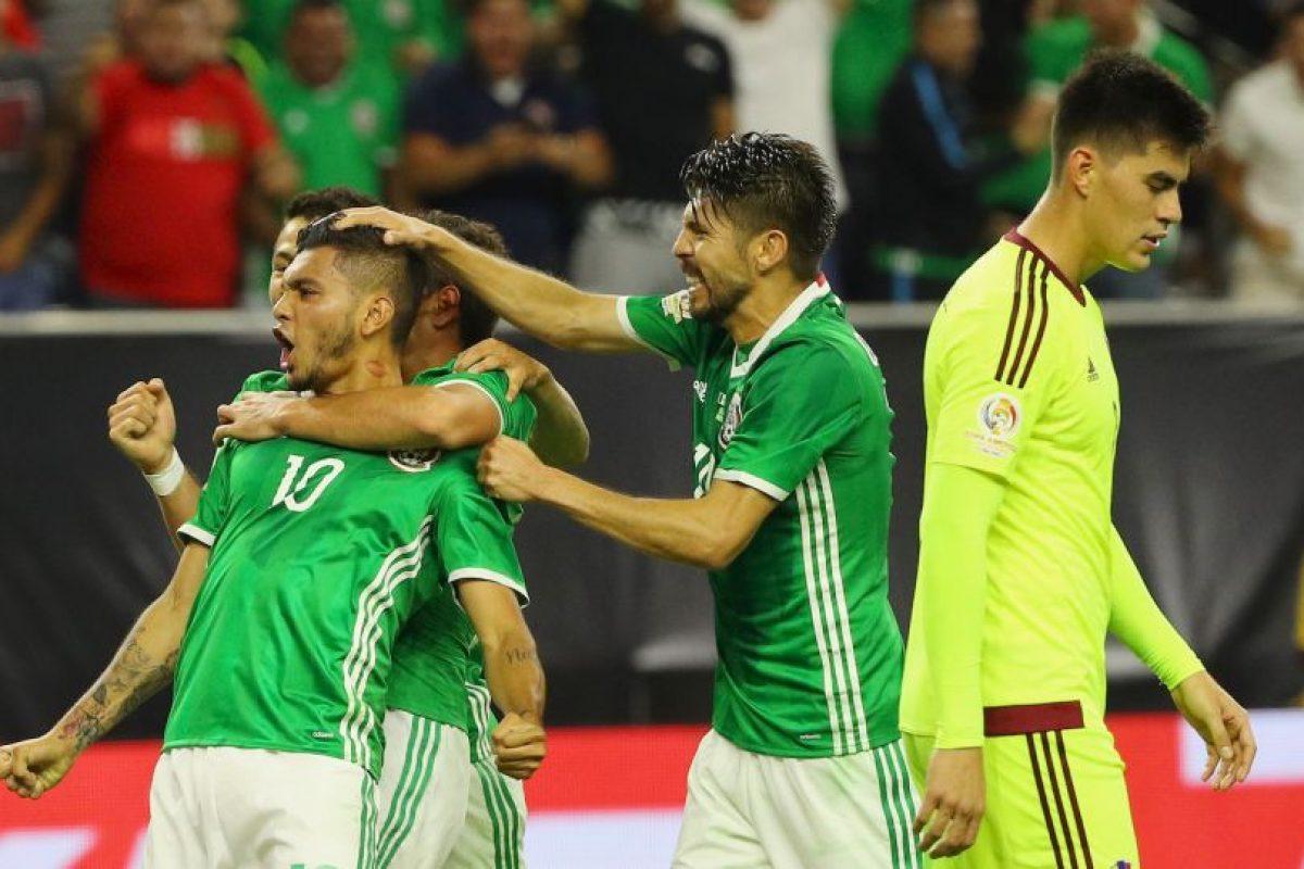 Los mexicanos suman 22 partidos sin perder y la última vez que cayeron fue el 19 de junio de 2015 Foto:Getty Images. Imagen Por: