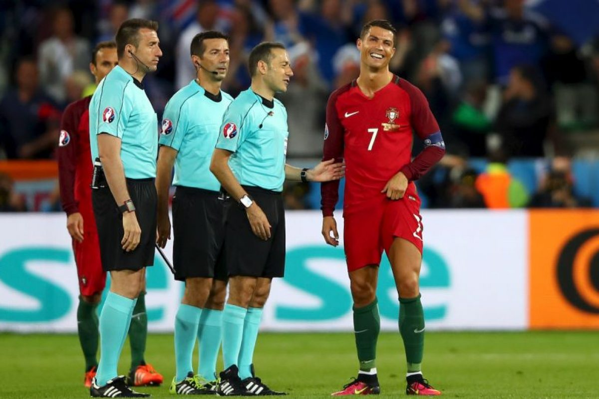 Cristiano Ronaldo no fue efectivo en el debut de Portugal ante Islandia Foto:Getty Images. Imagen Por: