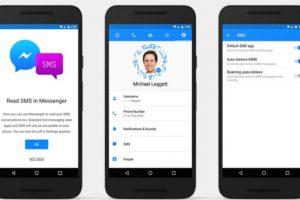Podremos elegir si queremos usar los SMS desde Messenger o no. Foto:Messenger. Imagen Por: